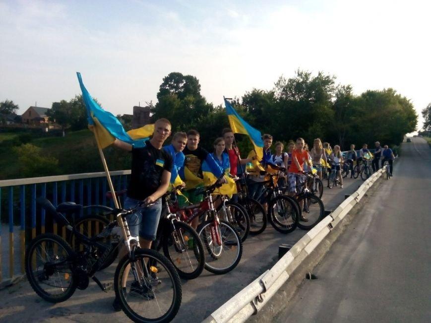 Коростишів об'єднався у «Велопробіг Нероздільності України», фото-4