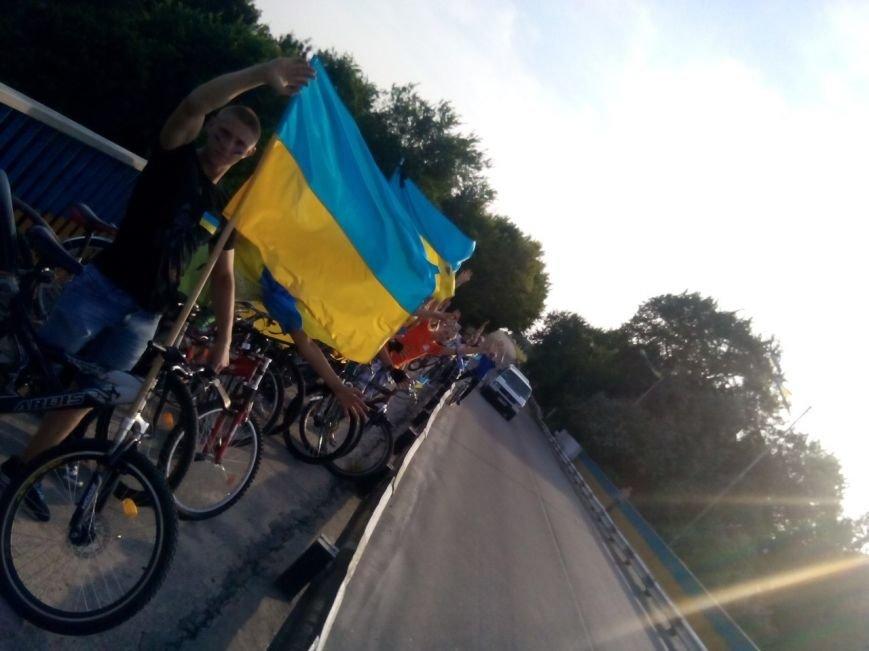 Коростишів об'єднався у «Велопробіг Нероздільності України», фото-2