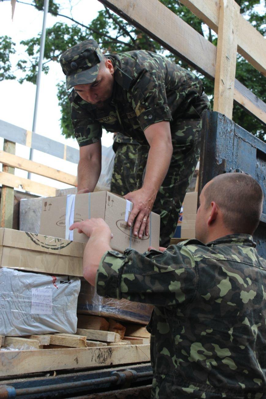 Черниговцы передали участникам  АТО более 4 тонн гуманитарной помощи, фото-1