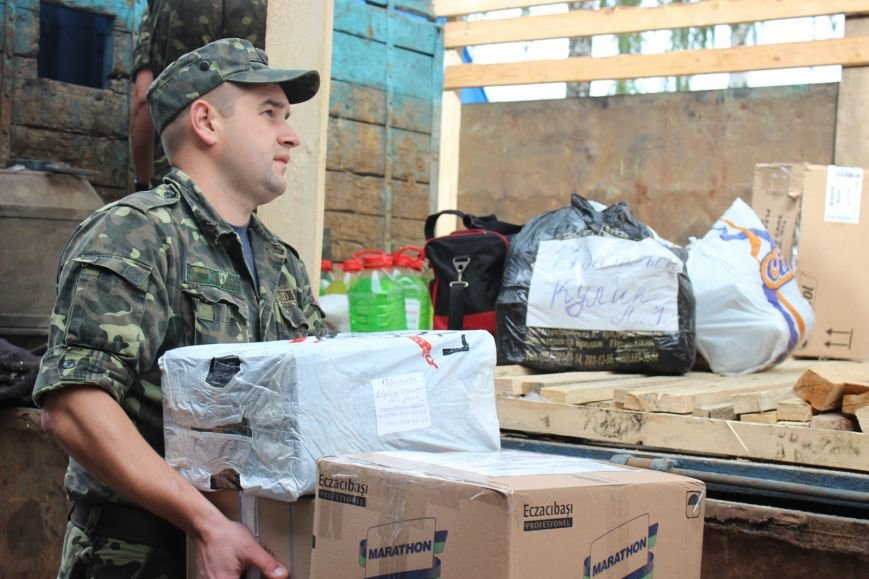 Черниговцы передали участникам  АТО более 4 тонн гуманитарной помощи, фото-3