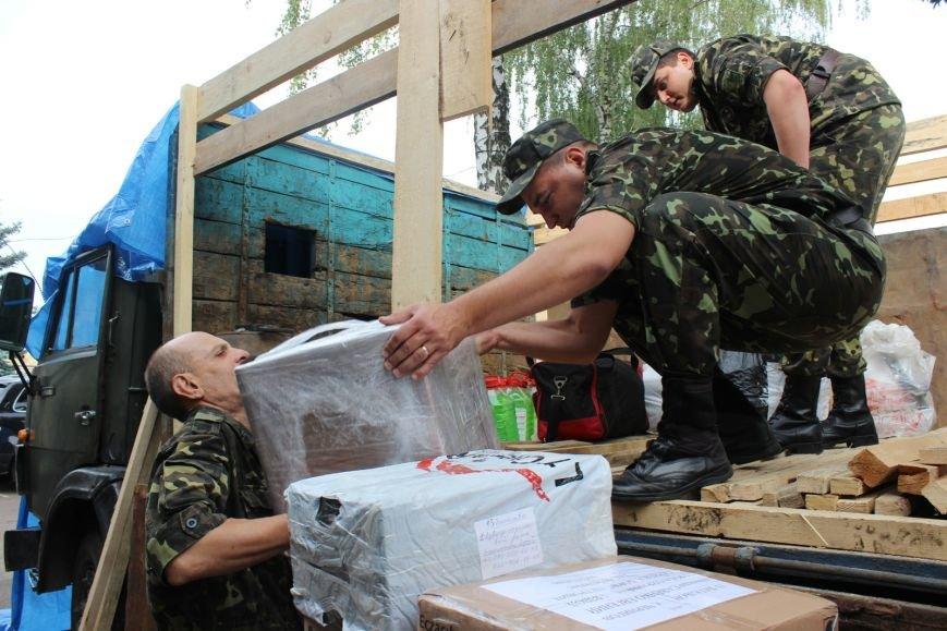 Черниговцы передали участникам  АТО более 4 тонн гуманитарной помощи, фото-4