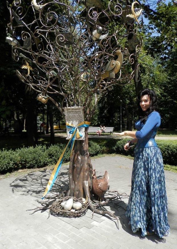 В Киеве «выросло» дерево желаний (ФОТО), фото-2