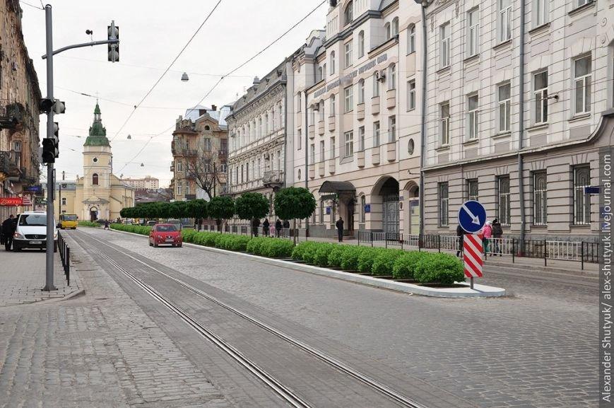 Прийшли активісти і привезли техніку: у Львові почали ремонтні роботи із озелененням вул. Городоцької, фото-1