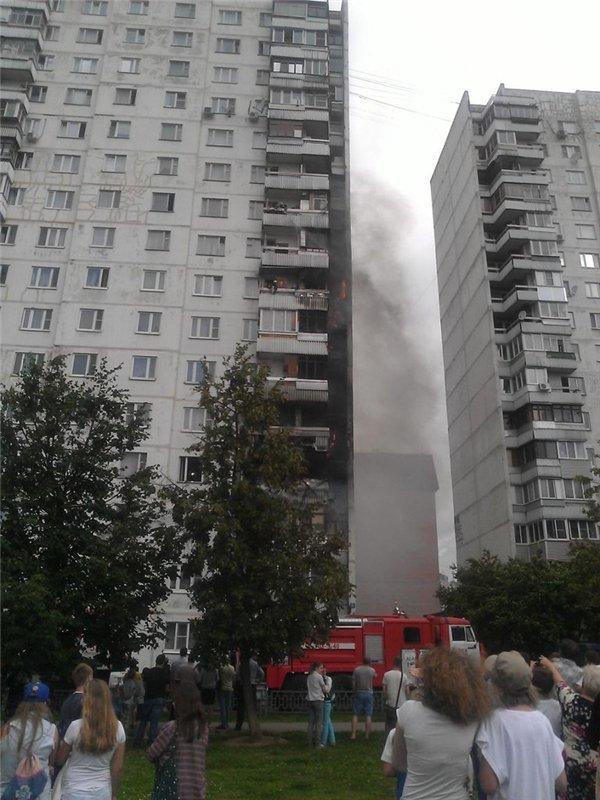 В микрорайоне Авиационный Домодедово ликвидирован пожар в многоквартирном доме, фото-2