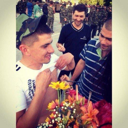 Украинская певица выступила перед черниговскими военнослужащими, фото-2