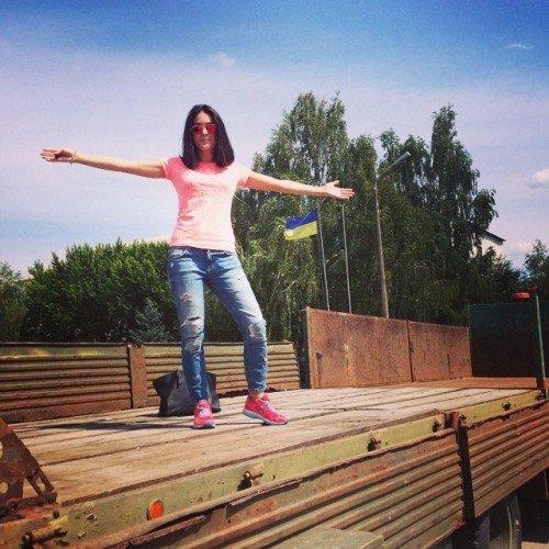 Украинская певица выступила перед черниговскими военнослужащими, фото-6
