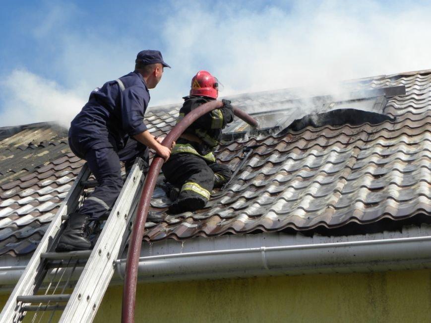 В Чернигове пожарные спасли от огня жителей многоквартирного дома, фото-5