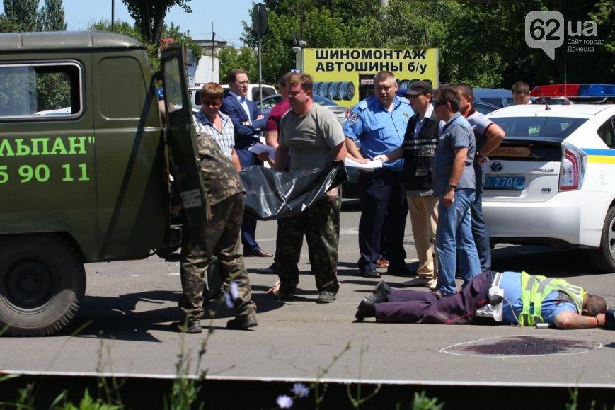 Расстрел трех милиционеров в центре Донецка — новые подробности кровавой бойни (ФОТО 18+), фото-4