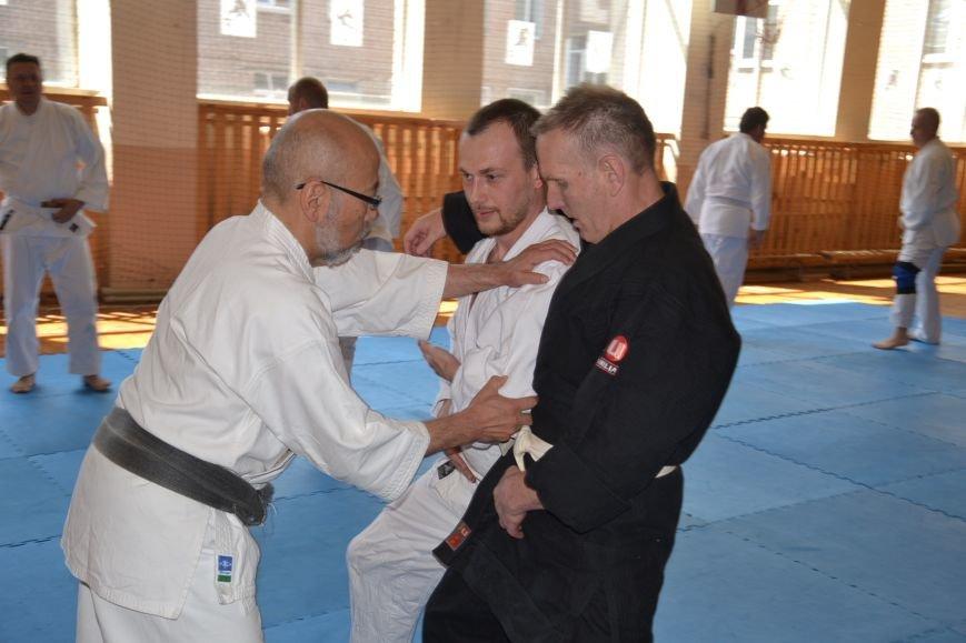 В Кривом Роге прошел семинар по одной из великих школ будзюцу, фото-2