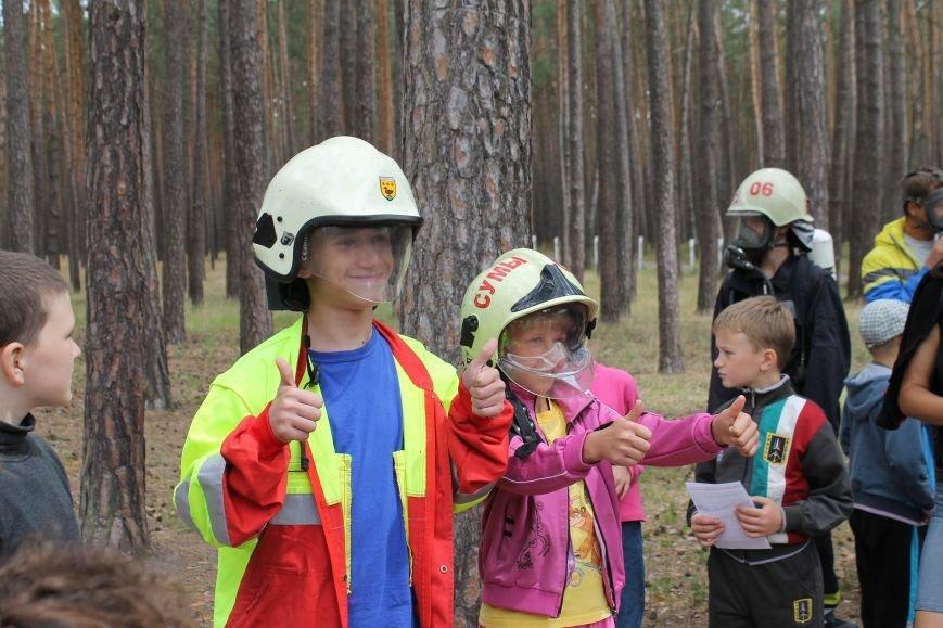 Для детей Сум провели акцию по безопасности жизнедеятельности (ФОТО), фото-5