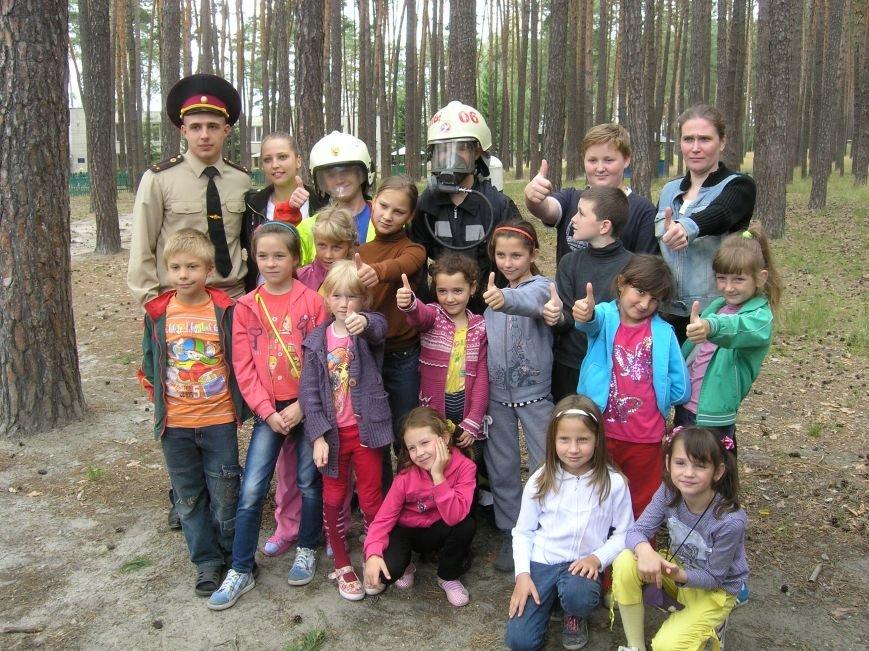 Для детей Сум провели акцию по безопасности жизнедеятельности (ФОТО), фото-3