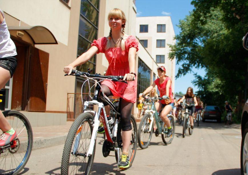 «Велоклуб» собрал самых активных и спортивных девушек Кривого Рога (ФОТО), фото-2
