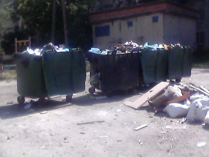 В Сумах жители дома на Харьковской «воюют» с мусорными контейнерами за детскую площадку (ФОТО), фото-2