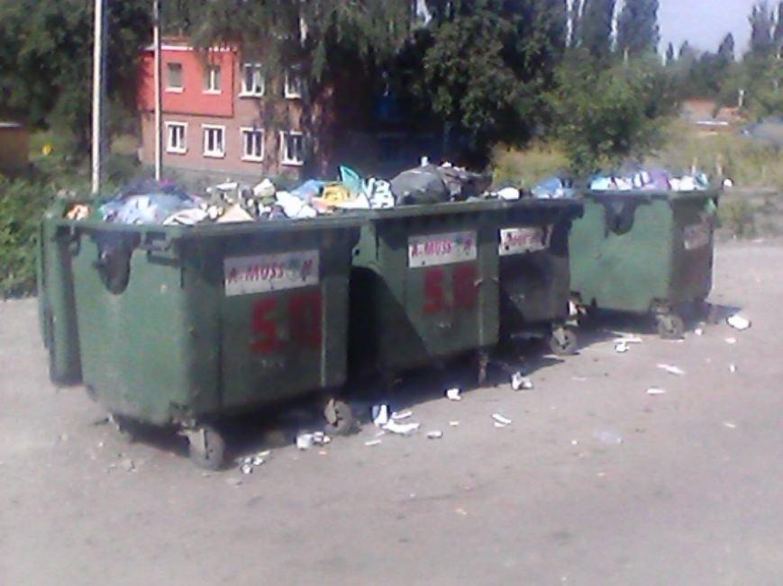 В Сумах жители дома на Харьковской «воюют» с мусорными контейнерами за детскую площадку (ФОТО), фото-1