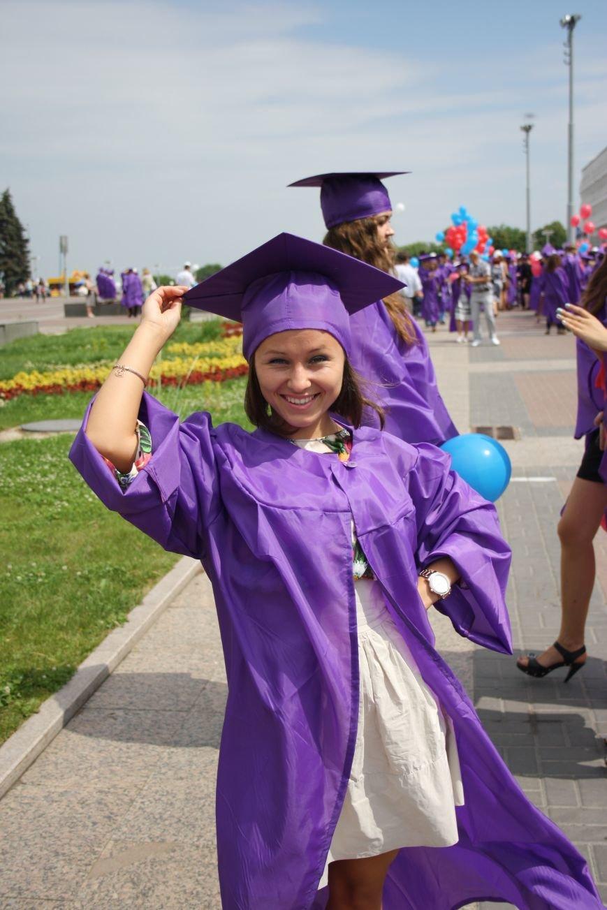 Выпускники УлГПУ впервые приняли участие в шествии, фото-5