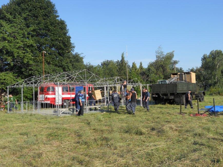 Красноармейск стал транзитным пунктом в «зеленом коридоре», через который жители Донбасса смогут покинуть зону АТО (ФОТО), фото-4