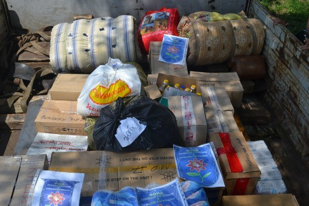 400 кг продуктов, собранных мариупольцами, благополучно доставили в Краматорск (ФОТО), фото-1