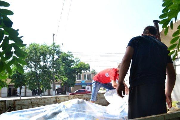 400 кг продуктов, собранных мариупольцами, благополучно доставили в Краматорск (ФОТО), фото-3