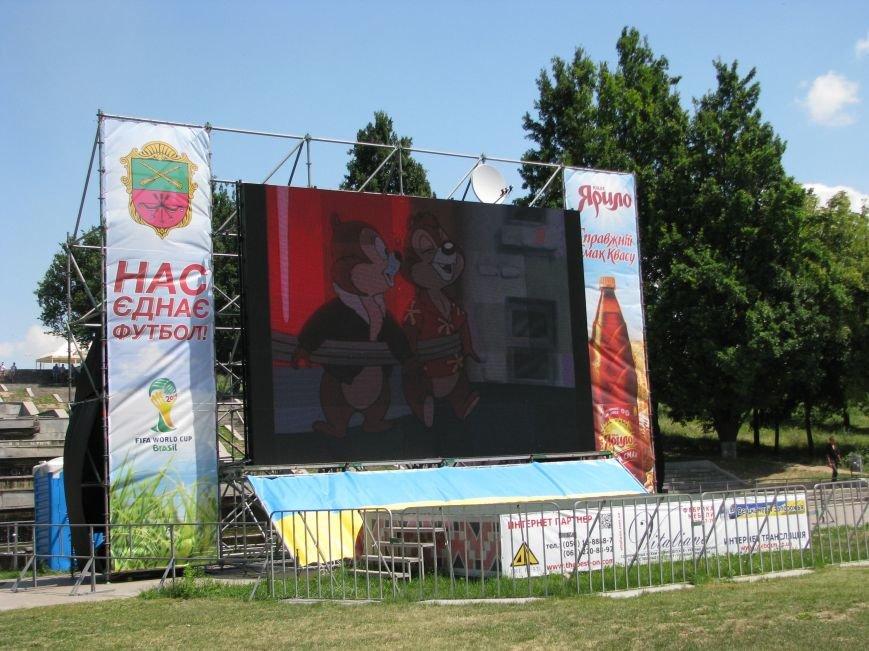 Вознесеновский парк: борьба с алкоголем и футбольные баталии на большом экране, фото-12