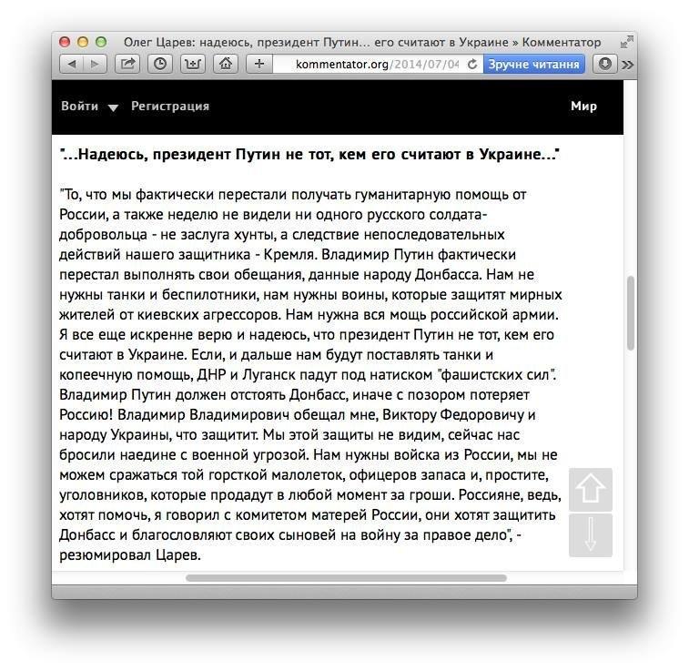 Царев назвал ДНР горсткой малолеток, офицеров запаса и уголовников, которые предадут в любой момент, фото-1