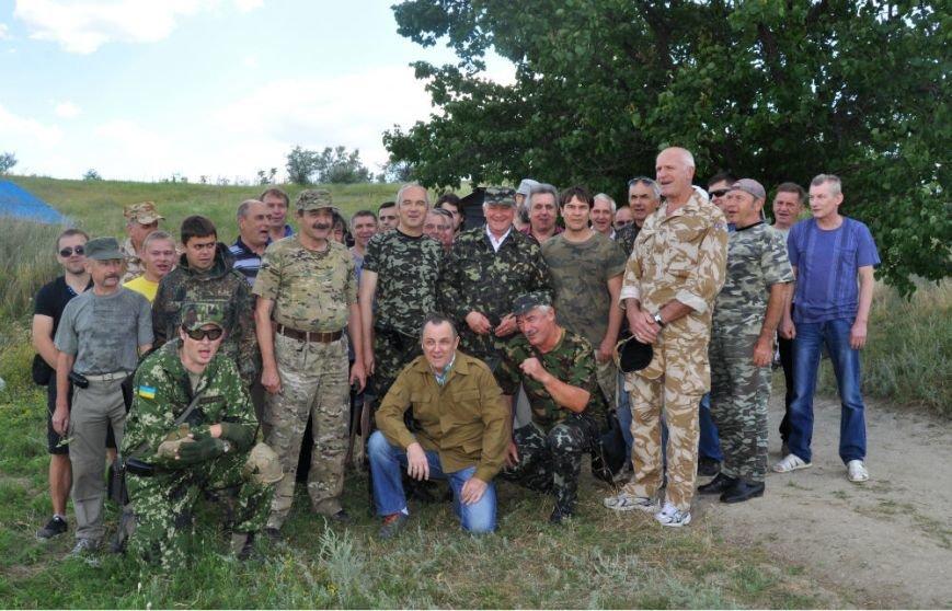ФОТОРЕПОРТАЖ: Под Запорожьем проходят тренировки батальонов МВД и Народного ополчения (ВИДЕО), фото-8
