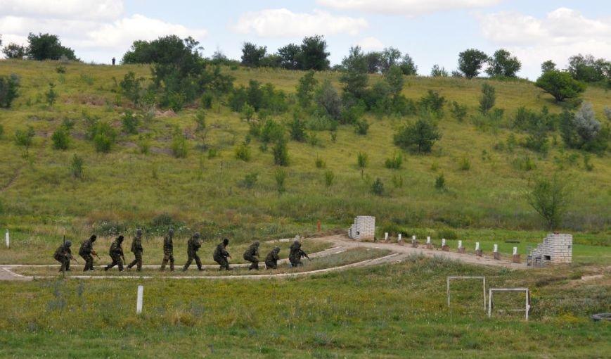 ФОТОРЕПОРТАЖ: Под Запорожьем проходят тренировки батальонов МВД и Народного ополчения (ВИДЕО), фото-6