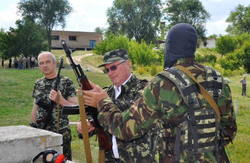 ФОТОРЕПОРТАЖ: Под Запорожьем проходят тренировки батальонов МВД и Народного ополчения (ВИДЕО), фото-4
