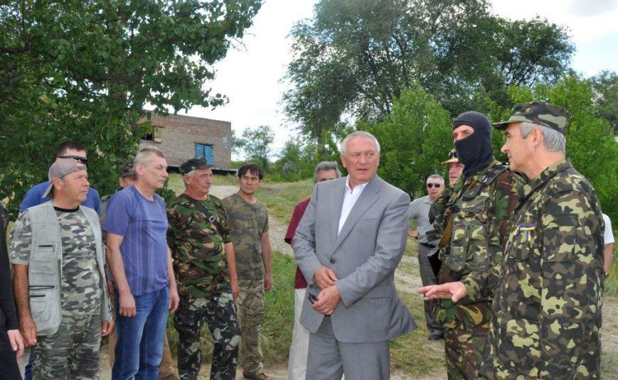 ФОТОРЕПОРТАЖ: Под Запорожьем проходят тренировки батальонов МВД и Народного ополчения (ВИДЕО), фото-2