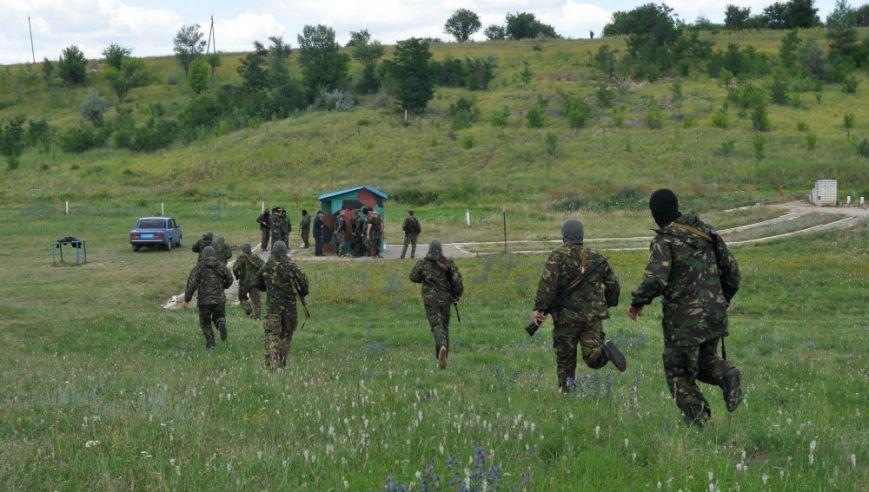 ФОТОРЕПОРТАЖ: Под Запорожьем проходят тренировки батальонов МВД и Народного ополчения (ВИДЕО), фото-1