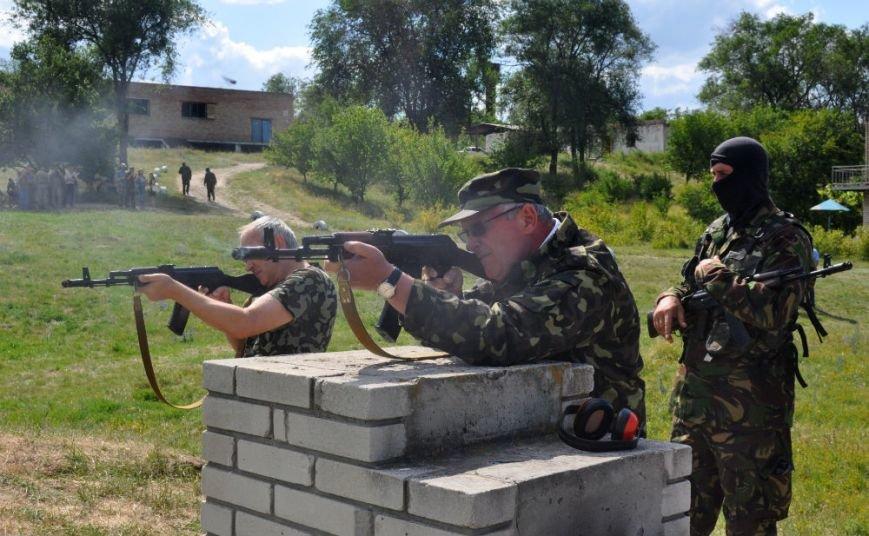 ФОТОРЕПОРТАЖ: Под Запорожьем проходят тренировки батальонов МВД и Народного ополчения (ВИДЕО), фото-5