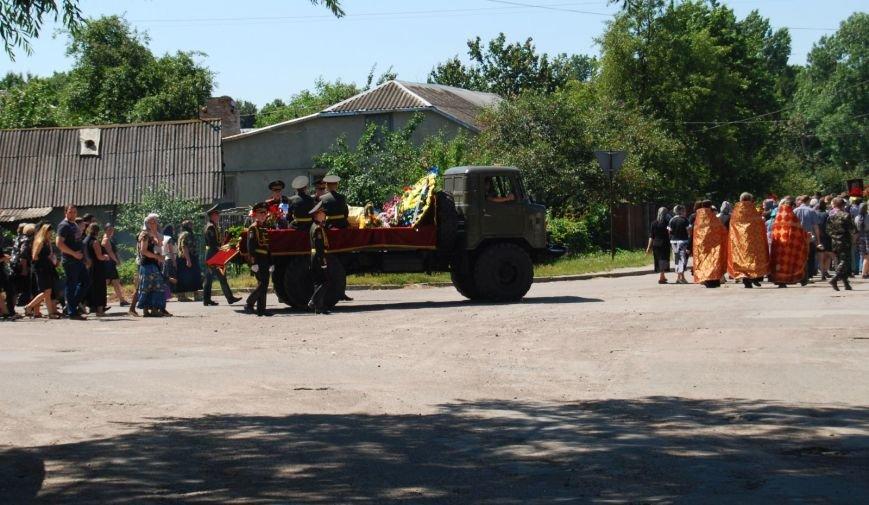 Сьогодні на Рівненщині прощалися з пілотом Армійської авіації Андрієм Бєлкіним (Фоторепортаж), фото-1