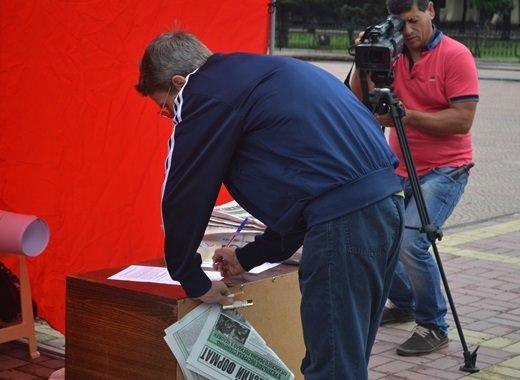 «ЛНР» инициировала в Луганске сбор подписей под обращением к Пан Ги Муну (ФОТО), фото-3