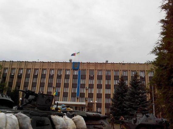Артемовск под контролем украинских силовиков: в город вошла тяжелая техника (ФОТО + ВИДЕО), фото-4