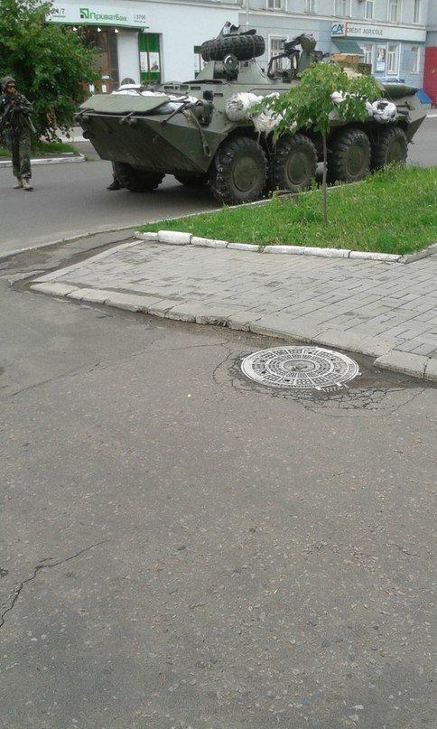 Артемовск под контролем украинских силовиков: в город вошла тяжелая техника (ФОТО + ВИДЕО), фото-2