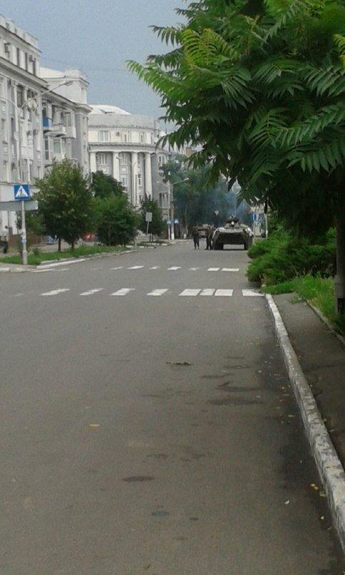 Артемовск под контролем украинских силовиков: в город вошла тяжелая техника (ФОТО + ВИДЕО), фото-1