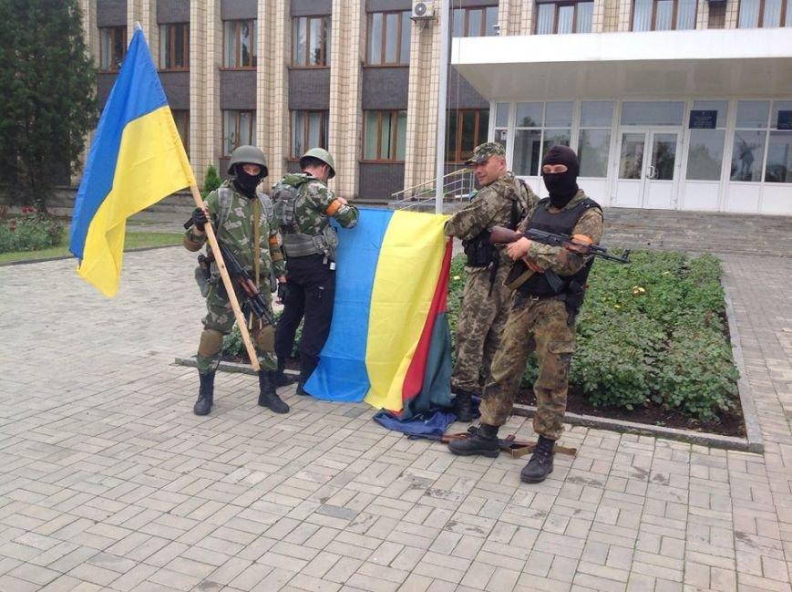 Артемовск под контролем украинских силовиков: в город вошла тяжелая техника (ФОТО + ВИДЕО), фото-10