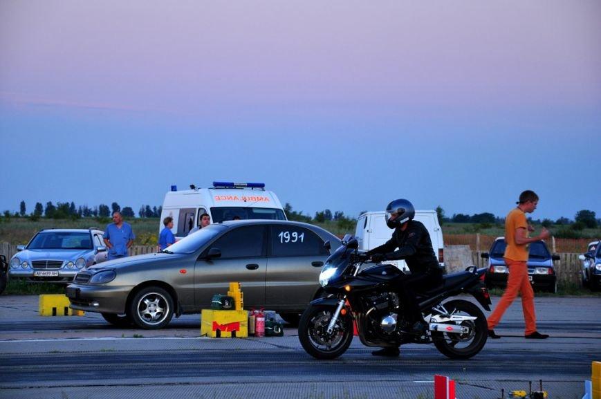 ФОТОРЕПОРТАЖ: В Запорожье байкеры сразились с автогонщиками, фото-19