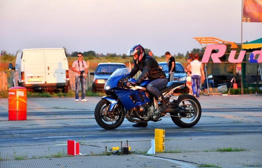 ФОТОРЕПОРТАЖ: В Запорожье байкеры сразились с автогонщиками, фото-10