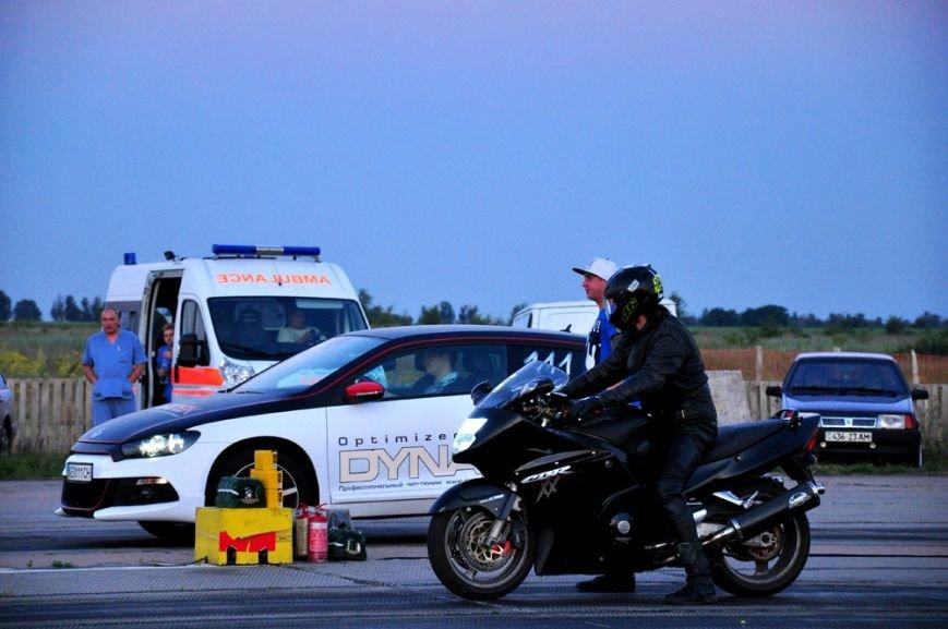 ФОТОРЕПОРТАЖ: В Запорожье байкеры сразились с автогонщиками, фото-20