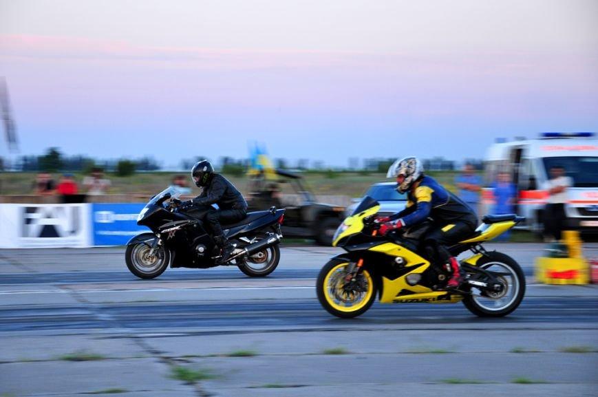 ФОТОРЕПОРТАЖ: В Запорожье байкеры сразились с автогонщиками, фото-15