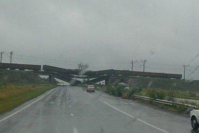 На константиновской трассе взорван железнодорожный мост (ФОТО), фото-5