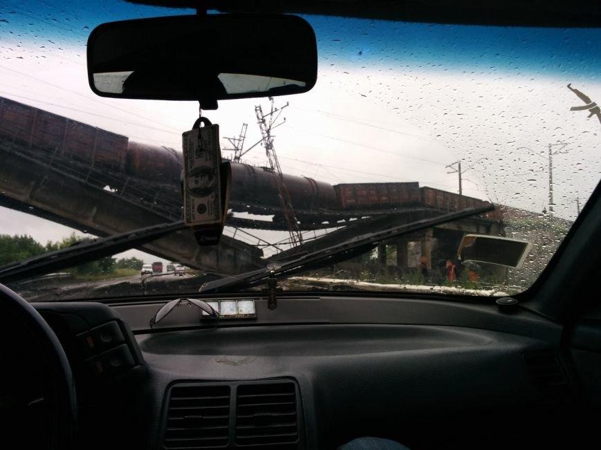 На константиновской трассе взорван железнодорожный мост (ФОТО), фото-2