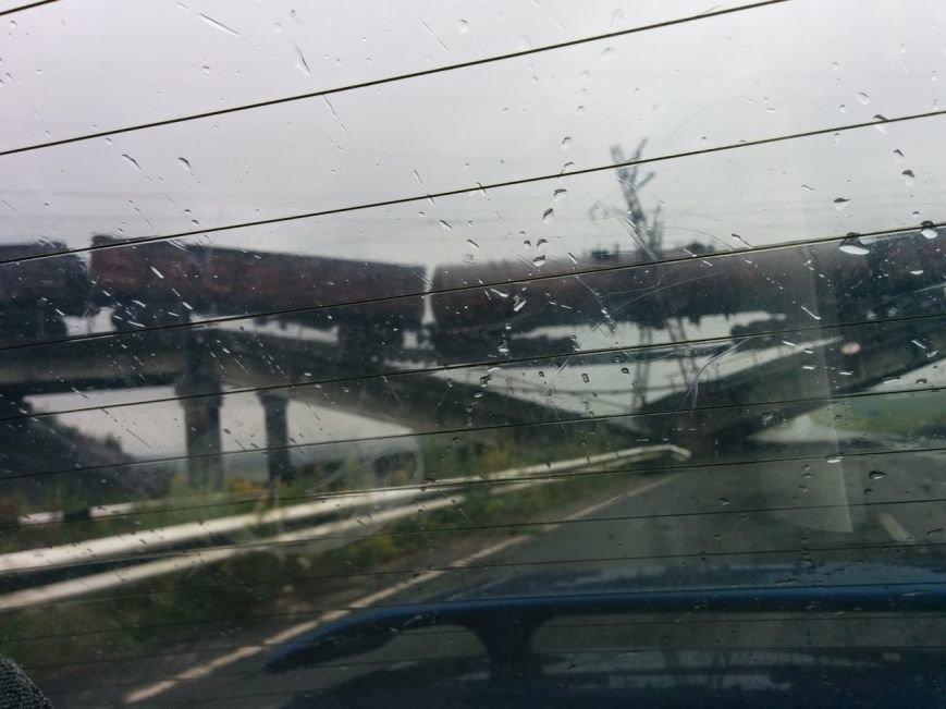 На константиновской трассе взорван железнодорожный мост (ФОТО), фото-4