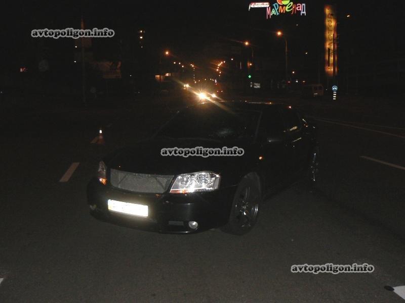 В Киеве «додж» сбил пешехода (ФОТО), фото-2