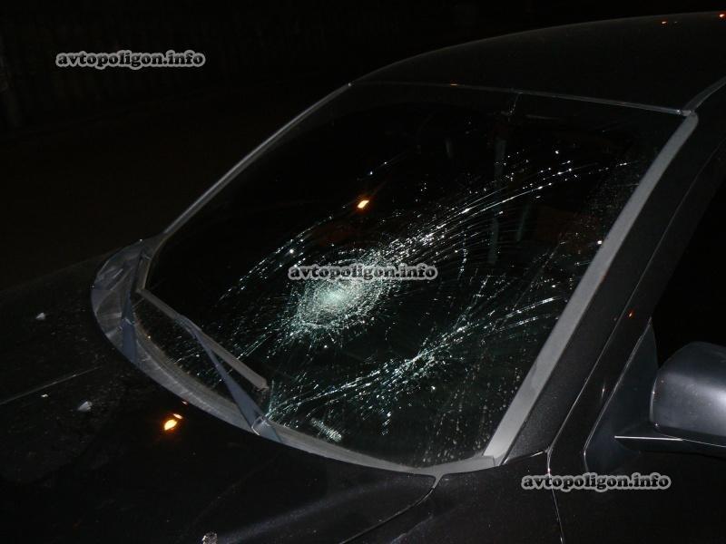 В Киеве «додж» сбил пешехода (ФОТО), фото-1