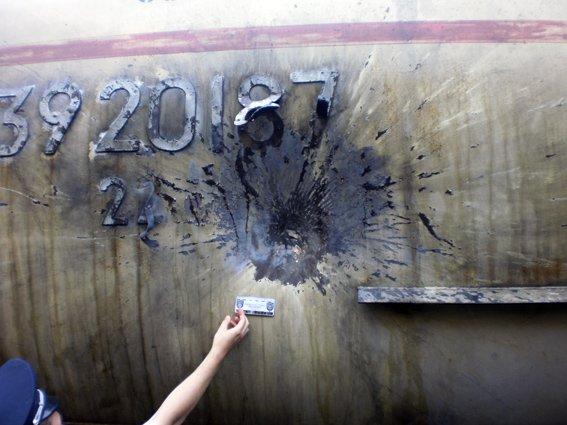 Под Харьковом неизвестные обстреляли поезд, фото-1