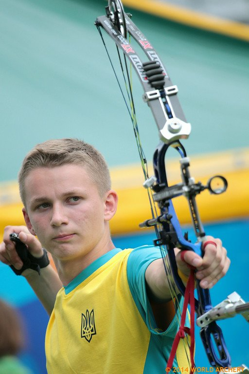 Легніца Владислав Большаков - Чемпіон світу  2014 року у стрільбі з блочного лука серед