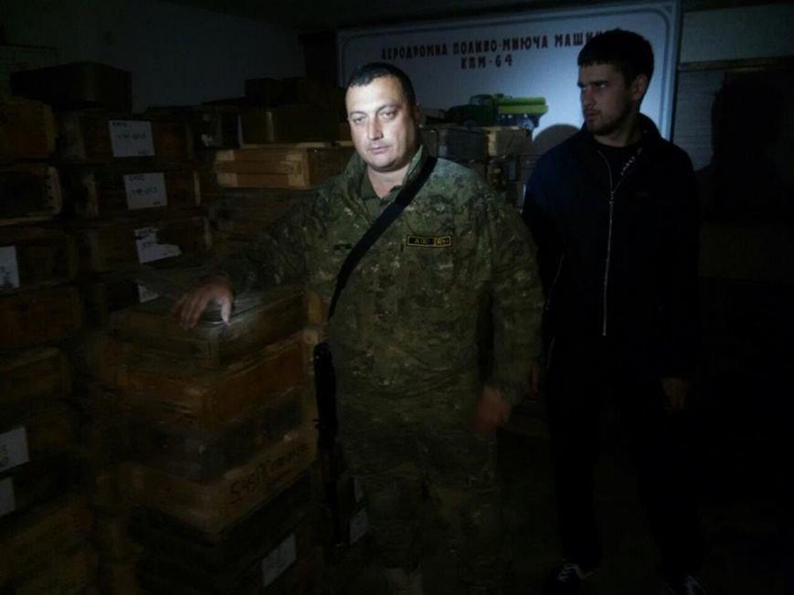 Новини із зони АТО: у Слов'янську «накрили» склад зброї бойовиків (фоторепортаж), фото-1