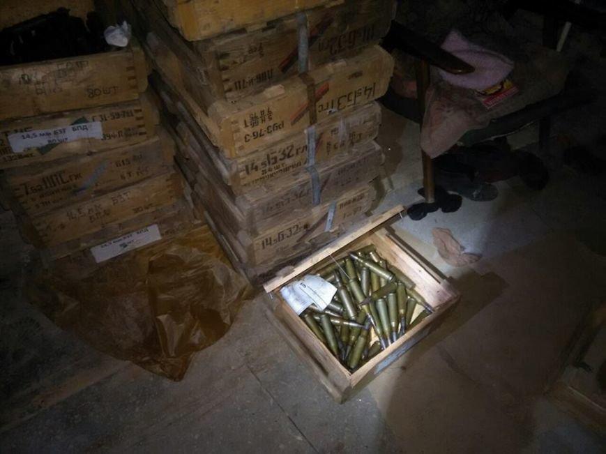 Новини із зони АТО: у Слов'янську «накрили» склад зброї бойовиків (фоторепортаж), фото-2