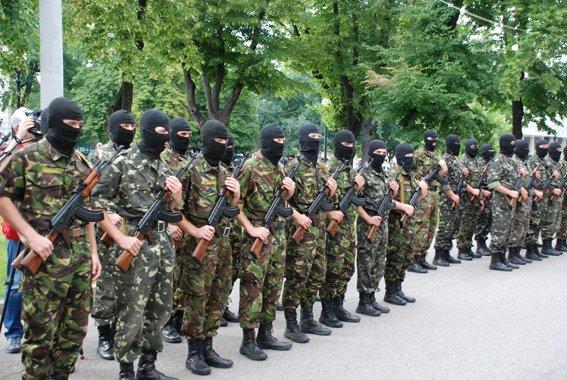 В Днепропетровске приняла торжественную присягу первая сотня батальона «Шахтерск» (ФОТО, ВИДЕО), фото-1